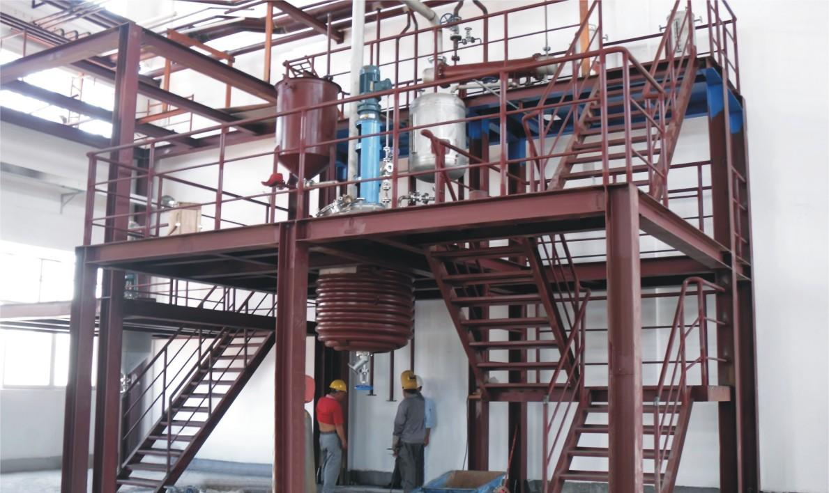 Building material additive plant