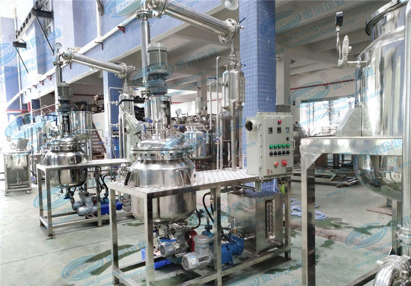 Jinzong Machinery professional chemical equipment supply company for stationery industry