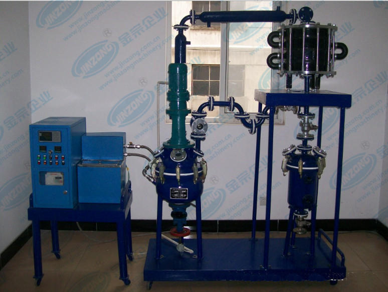 Electrical heating Anti-corrosion pilot glass-lined reactor