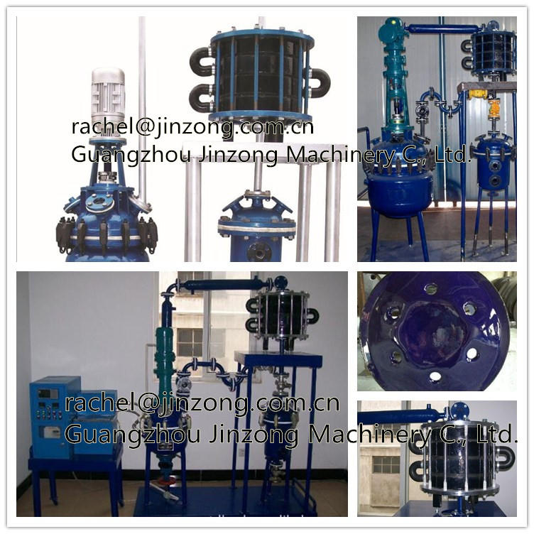 Jinzong Machinery hydraulic pilot reactor Chinese for reflux