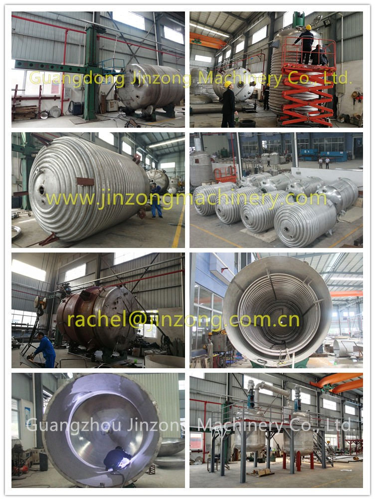 Jinzong Machinery anticorrosion glass-lined reactor Chinese for reflux-15