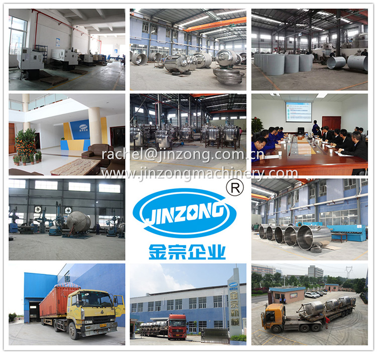 Jinzong Machinery anticorrosion glass-lined reactor Chinese for reflux-18