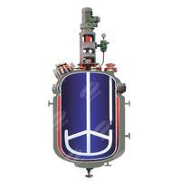 Glass lined reactor Enamel reaction kettle