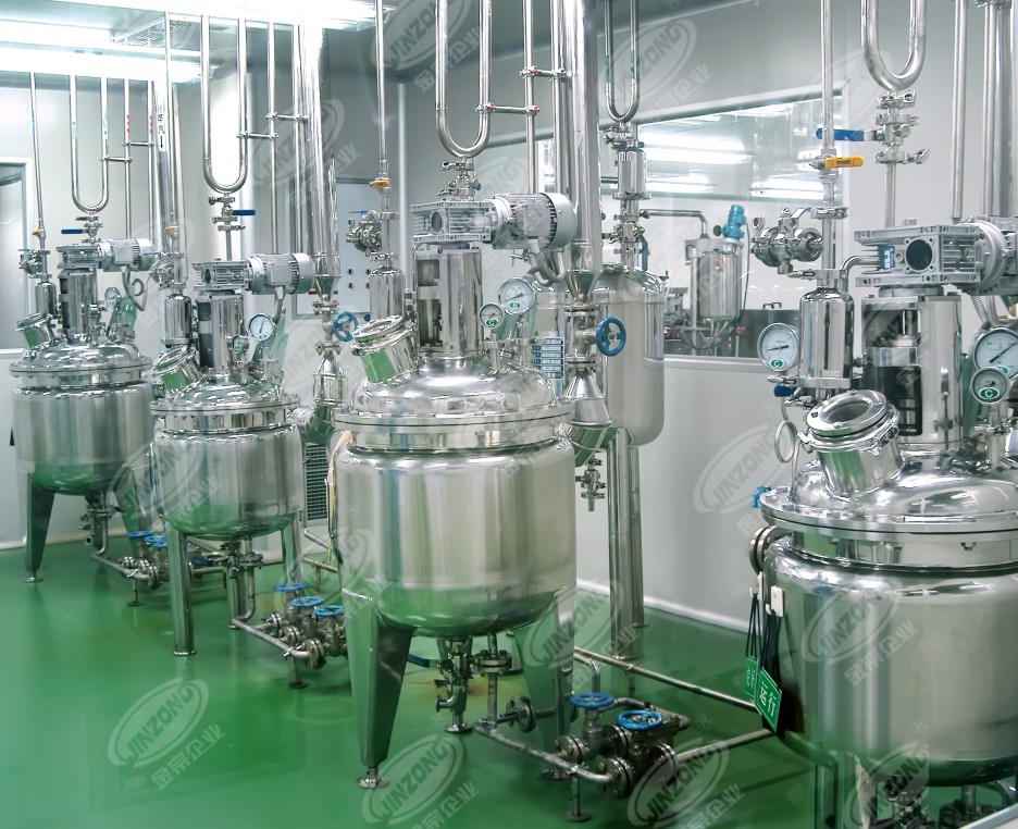 multi function pharmaceutical API manufacturing machine ointment series for reflux-1