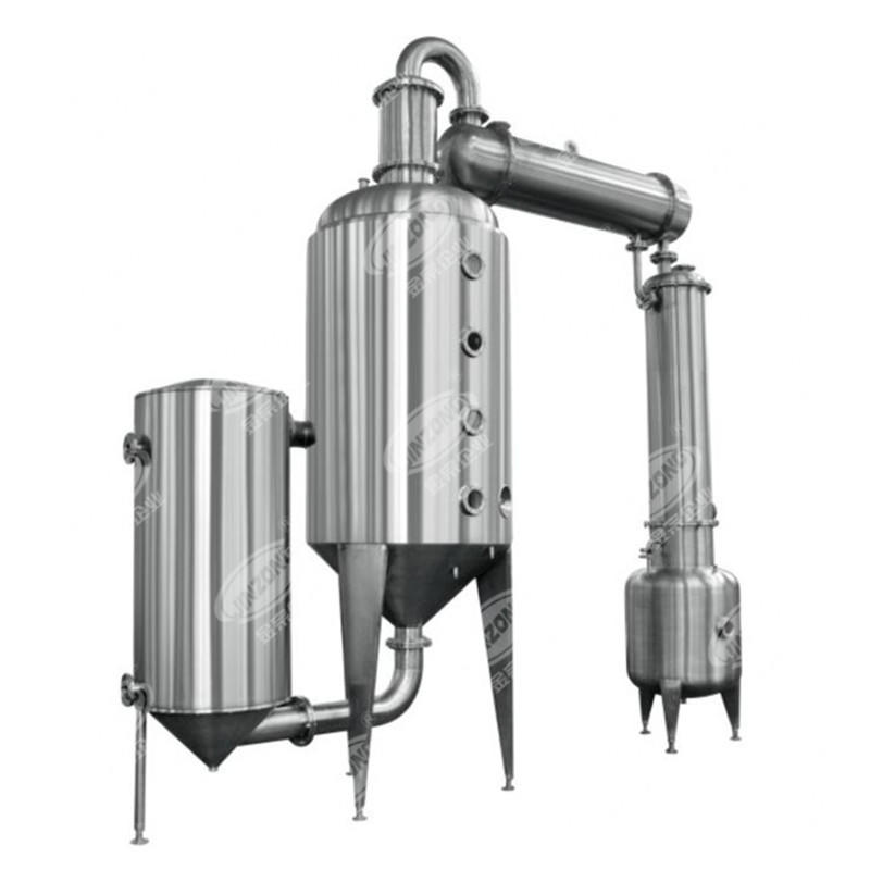 Vacuum solvent distillation Multiple Effect Evaporators