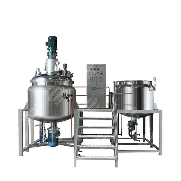 Bottom homogenizer Vacuum Emulsifying Ointment Mixing Machine