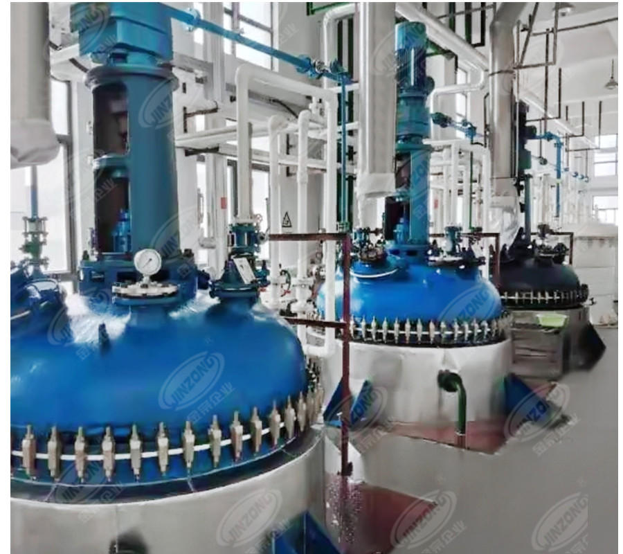 API manufacturing plant glass lined reactor