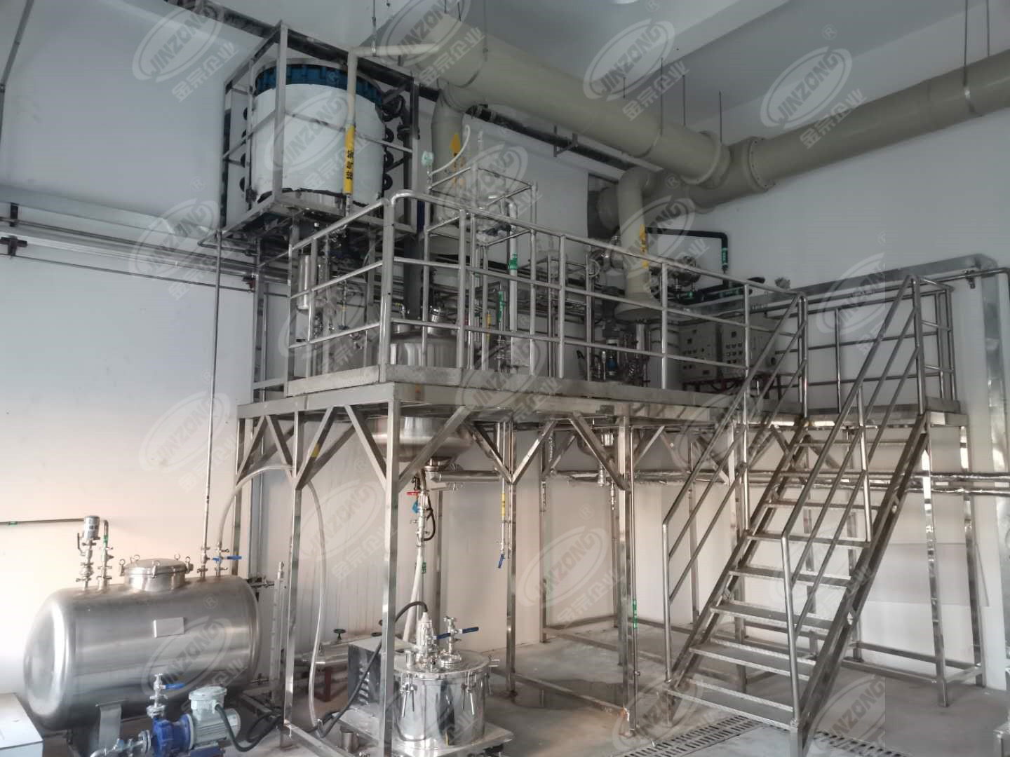 Jinzong Machinery machine Distillation concentrator for sale for food industries-3