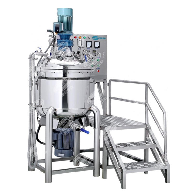 Mayonnaise Mixing tank with inline homogenizer Machine