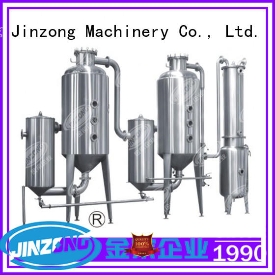 Jinzong Machinery pharmaceutical concentration machine online for food industries