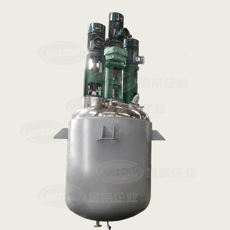 Multifunctional Reactor for medium and high viscosity product