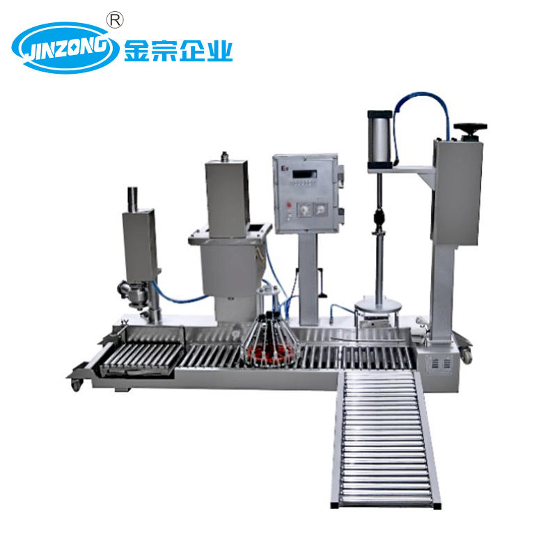Paint Weight Filling Capping Machine