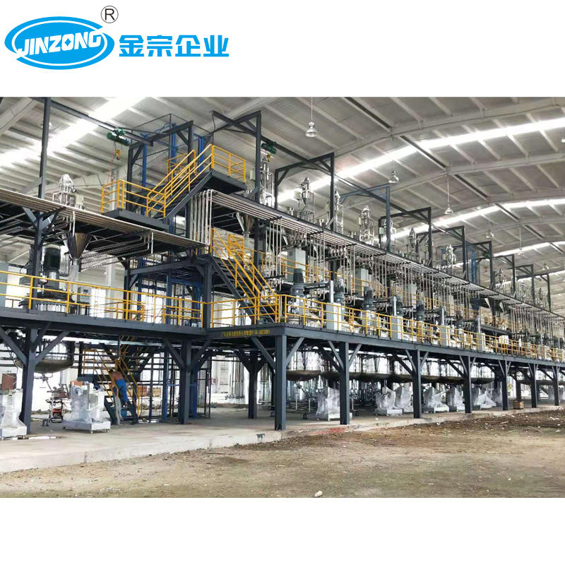 Interior-Exterior Wall Paint Production Line