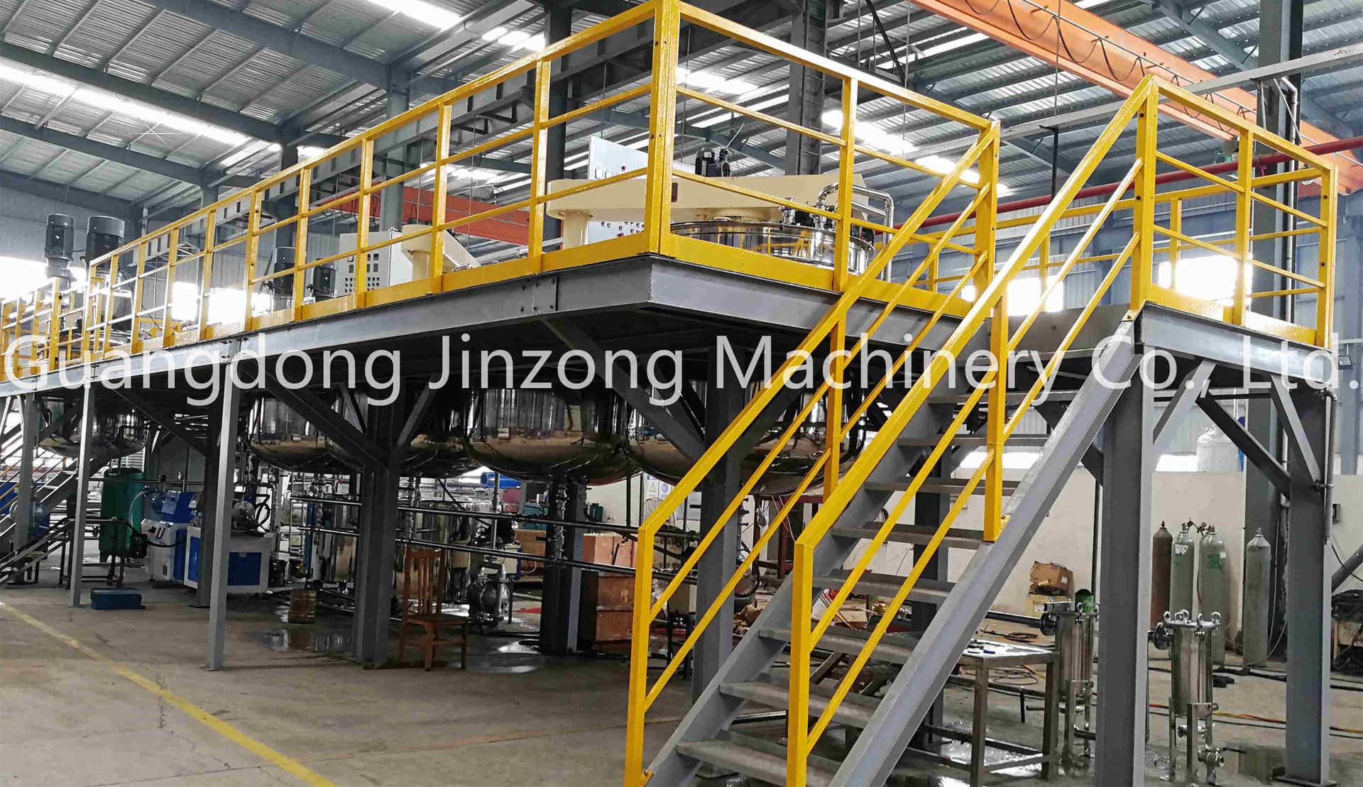 Full Automatic Floor Paint Production Plant