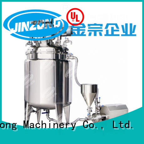 Jinzong Machinery best sale pharmaceutical API manufacturing machine for sale for reaction