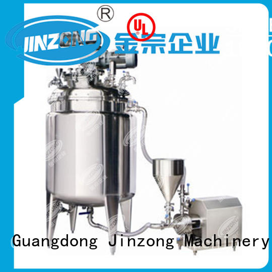 Jinzong Machinery vacuum jacketed reactor series for pharmaceutical