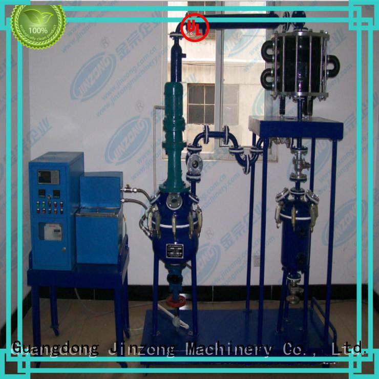 Jinzong Machinery coil pilot reactor online for reflux
