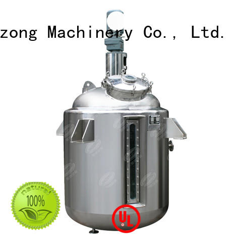 Jinzong Machinery vacuum syrup manufacturing tank for business for reflux