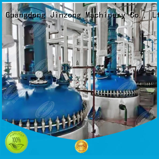 Jinzong Machinery vacuum oral liquid manufacturing plant company for reflux