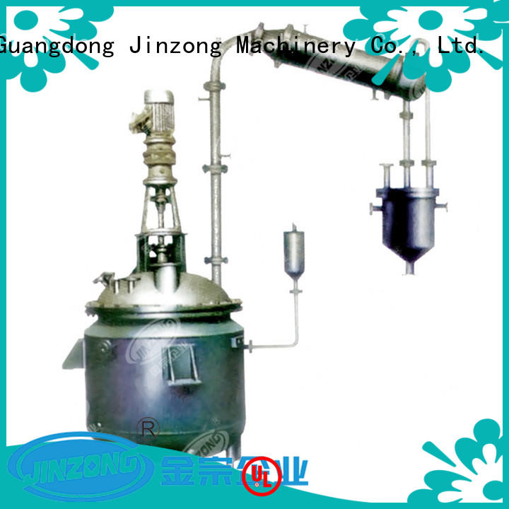 good quality jacketed reactor ointment series for food industries