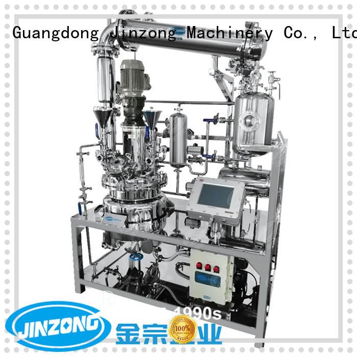 Jinzong Machinery machine pharmaceutical reaction reactors online for food industries