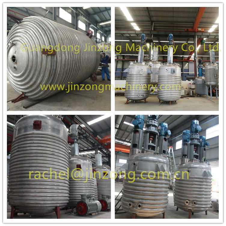 Jinzong Machinery anticorrosion glass-lined reactor Chinese for reflux-1