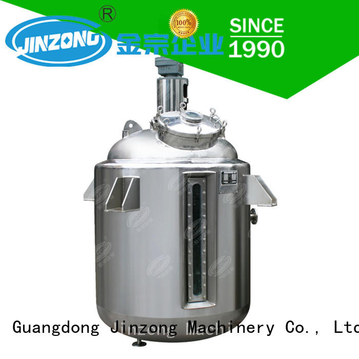Jinzong Machinery pharmaceutical reaction reactors for sale for pharmaceutical