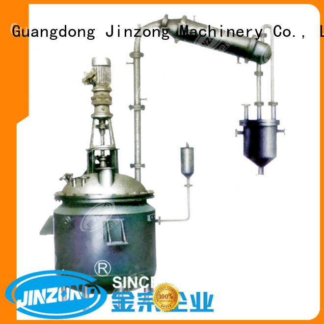 Jinzong Machinery jrf stainless water tank online for reflux