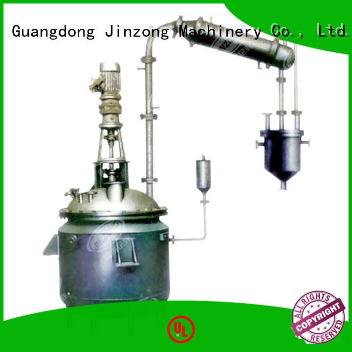 Jinzong Machinery customized stainless steel water storage tank for sale for reaction