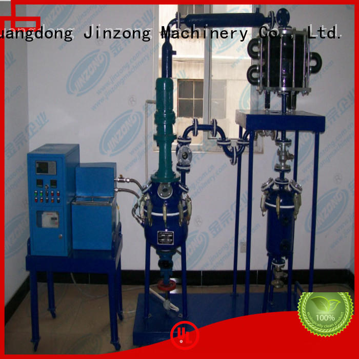Jinzong Machinery heat pilot reactor manufacturer for chemical industry