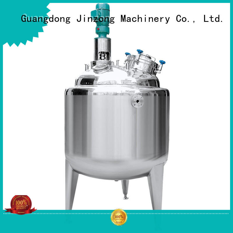 Jinzong Machinery customized preparation of pharmaceutical process for sale for reaction