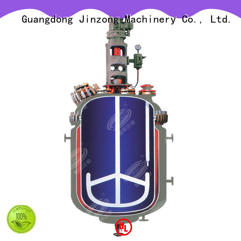 Jinzong Machinery best sale pharmaceutical machinery online for reaction