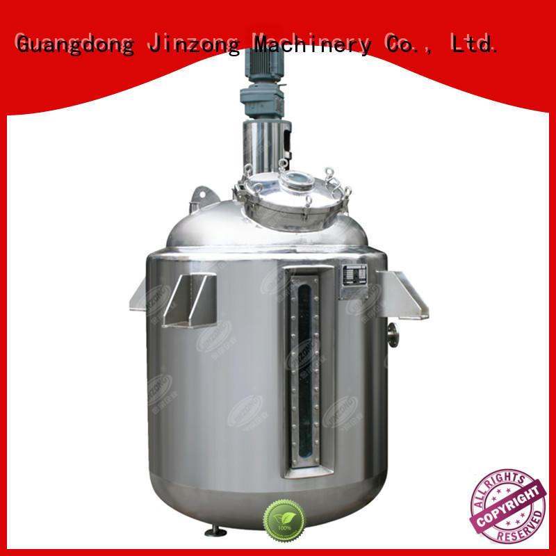 Jinzong Machinery machine stainless water tank series for reaction