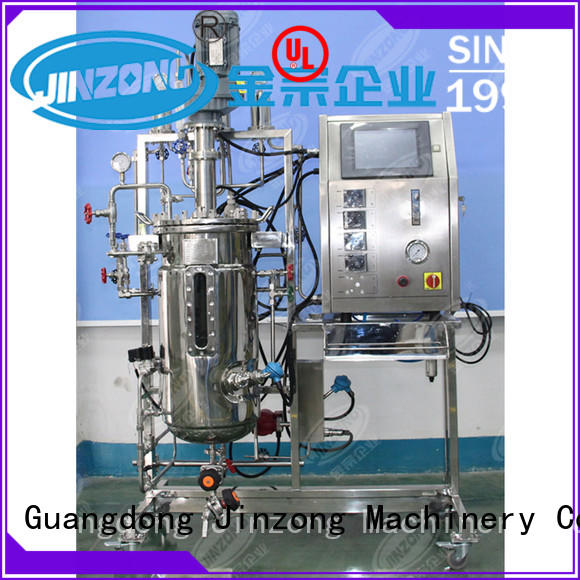 customized jacketed reactor jr online for food industries
