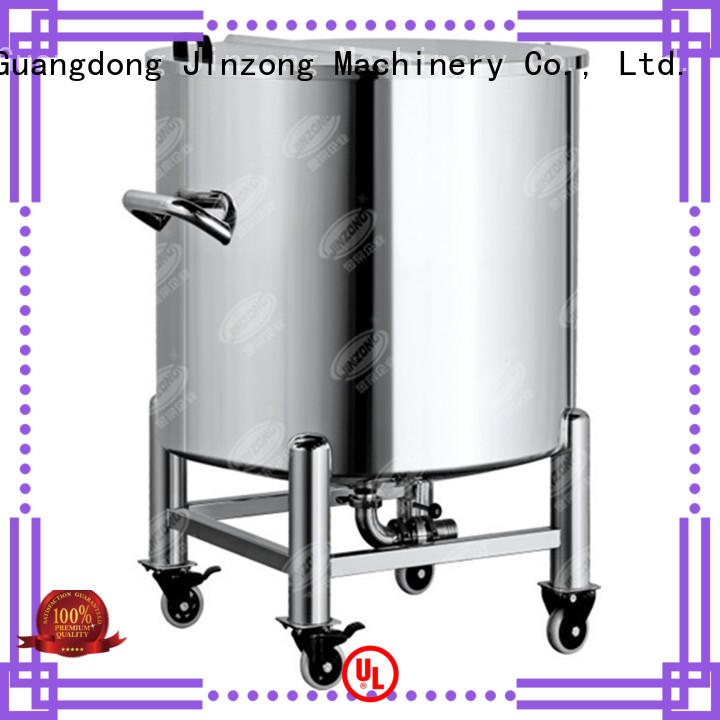Jinzong Machinery making ointment manufacturing machine supplier for reflux
