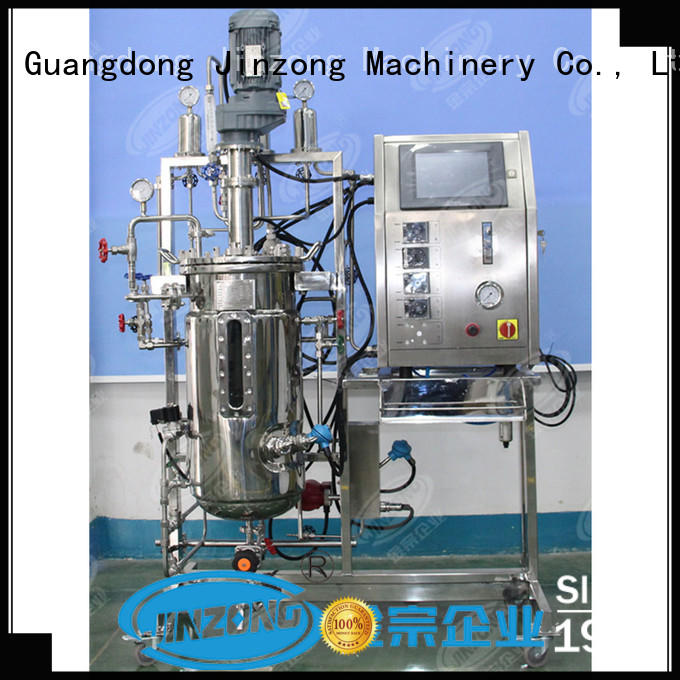 Jinzong Machinery making stainless steel storage tank supplier for pharmaceutical