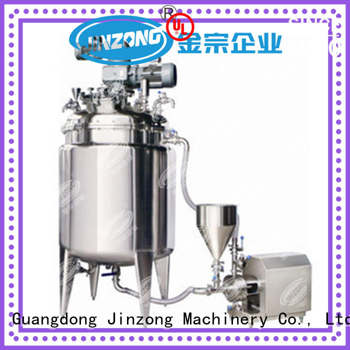 Jinzong Machinery jrf pharmaceutical machinery equipment online for food industries