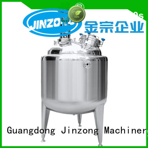 Jinzong Machinery good quality stainless steel storage tank supplier for pharmaceutical
