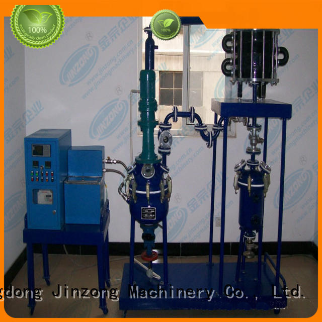 Jinzong Machinery hydraulic pilot reactor Chinese for reflux
