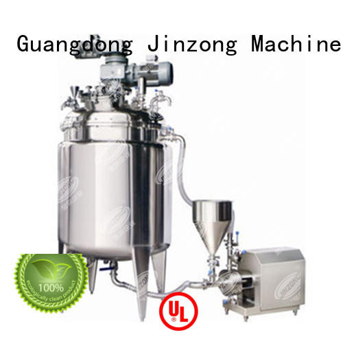 jacketed reactor ointment series for food industries