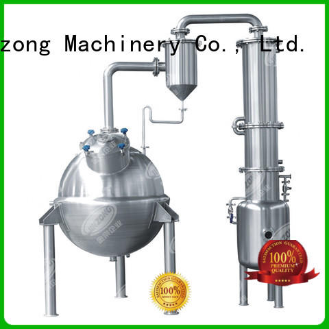 Jinzong Machinery multi function pharmaceutical large infusion preparation machine system online for reflux