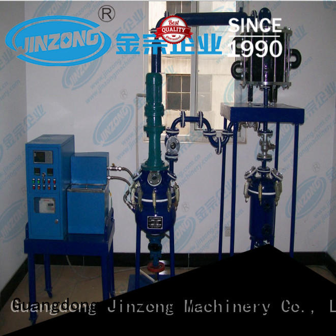 Jinzong Machinery durable acylic resin reactor online for distillation