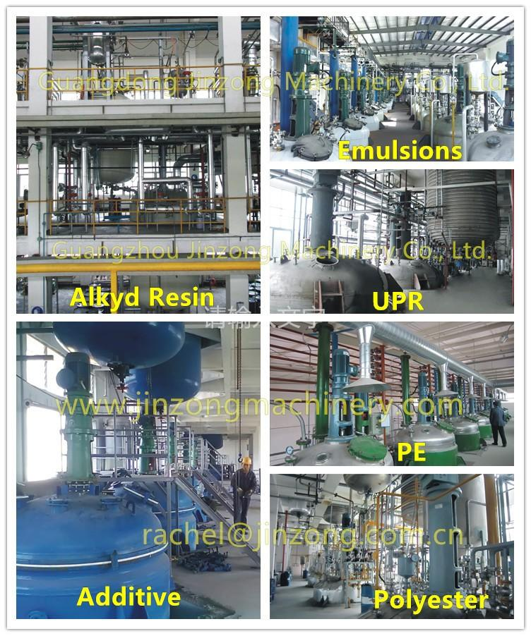 multifunctional jacketed reactor online for distillation-3