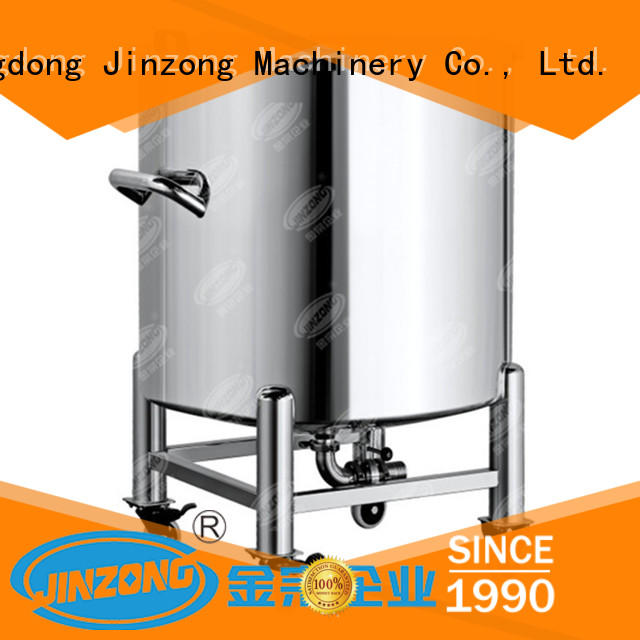 Jinzong Machinery machine stainless water tank online for pharmaceutical