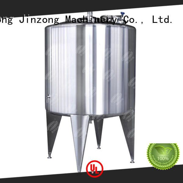 Jinzong Machinery customized liquid detergent mixer series for reflux